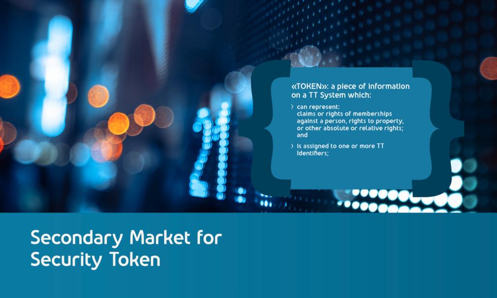Sekundärmarkt für Security Token