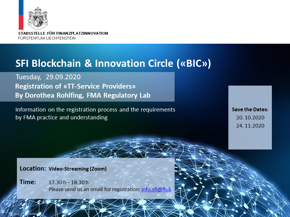 "SFI BIC ""Registration of TT-Service Providers"""